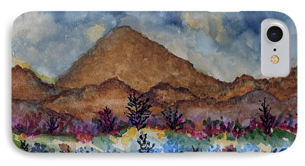 Mountain Desert Scene IPhone Case