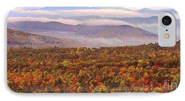 Mountain Mornin' In Autumn IPhone Case