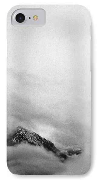 Mountain Peak In Clouds IPhone Case