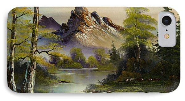 Mountain Evening IPhone Case
