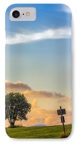 Mountain Sunset. Italy IPhone Case