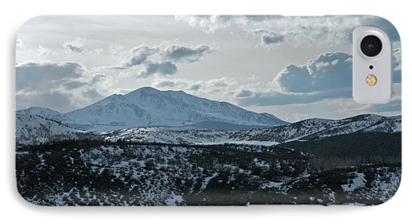 Mountains Of Wild Cat Ranch IPhone Case