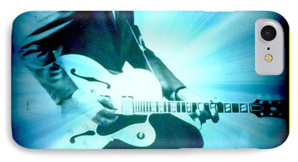 Mr Chuck Berry Blueberry Hill Style Edited 2 IPhone Case