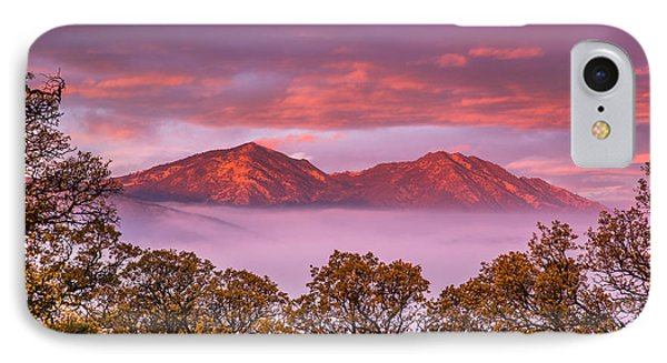 Mt Diablo In The Early Morning Light IPhone Case