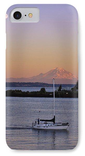 Mt. Rainier Afterglow IPhone Case