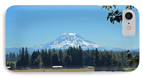 Mt. Rainier From The Western Side IPhone Case