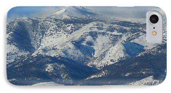 Mt Rose Reno Nevada IPhone Case