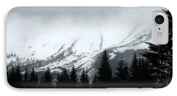 Mt St Helens........a Looming Storm IPhone Case