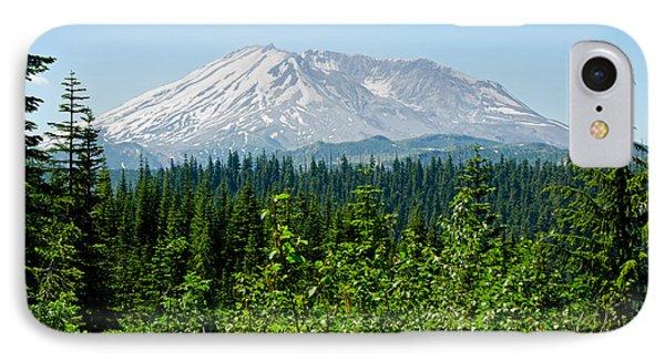 Mt. St. Hellens IPhone Case