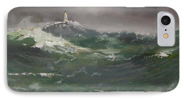 Muckle Flugga Lighthouse Shetland IPhone Case