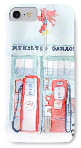 Mukilteo Garage IPhone Case