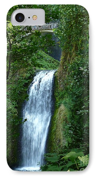 Multnomah Falls Bridge 2 IPhone Case