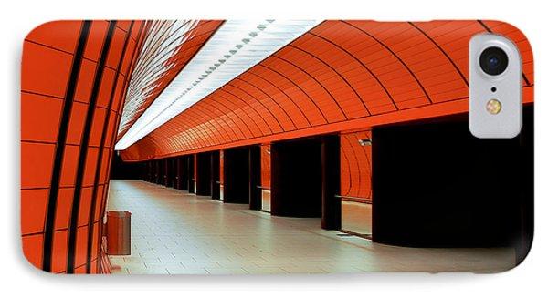 Munich Subway I IPhone Case