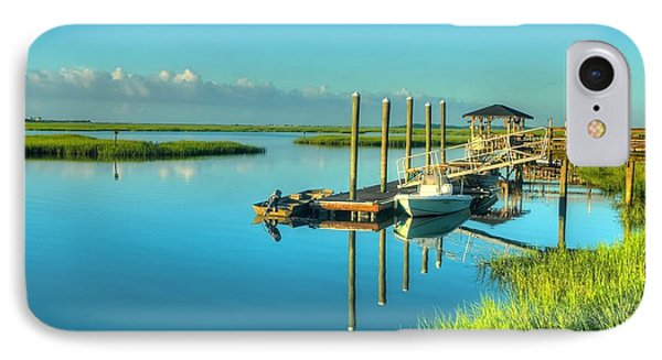 Murrells Inlet Dock IPhone Case
