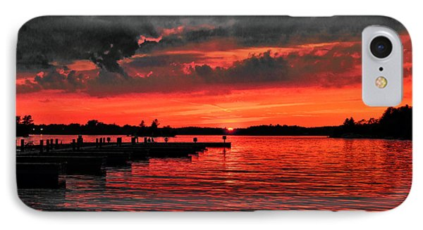 Muskoka Sunset IPhone Case