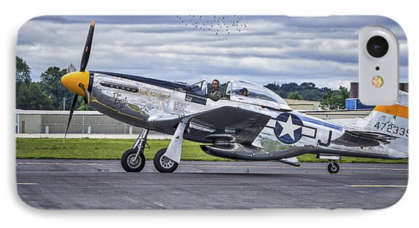 Mustang P51 IPhone Case