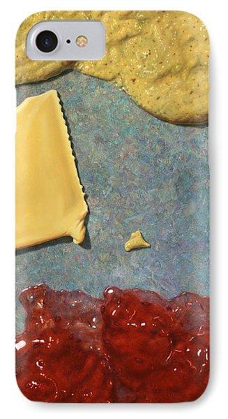 Mustard iPhone 8 Case - Mustard  Cheese Jam by James W Johnson
