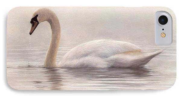 Mute Swan Painting IPhone Case