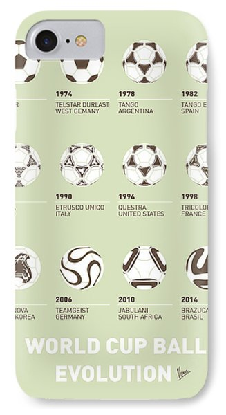 My Evolution Soccer Ball Minimal Poster IPhone Case