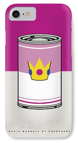 My Mario Warhols Minimal Can Poster-peach IPhone Case