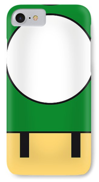 Castle iPhone 8 Case - My Mariobros Fig 05b Minimal Poster by Chungkong Art