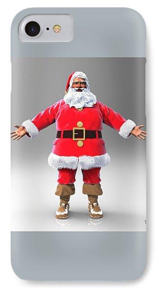 My Name Is Santa IPhone Case