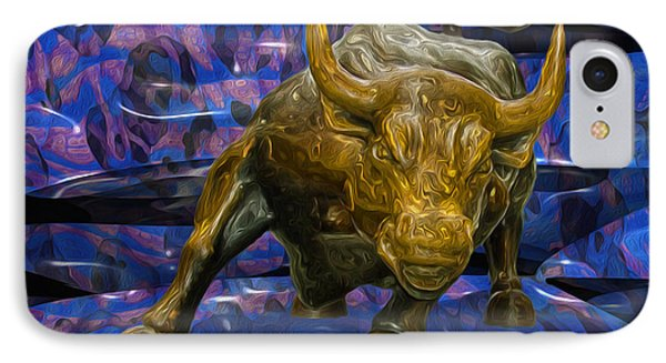 My New York City Bull IPhone Case