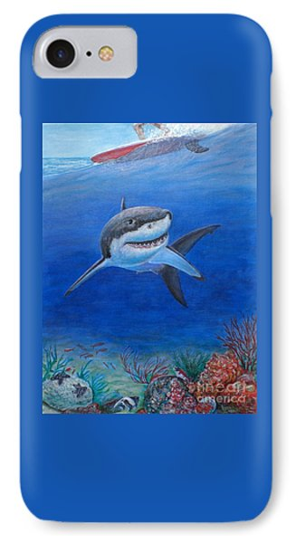 My Pet Shark IPhone Case
