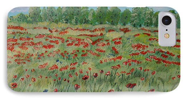 My Poppies Field IPhone Case