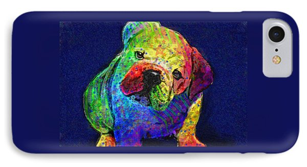 My Psychedelic Bulldog IPhone Case