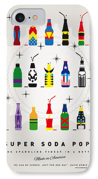 American iPhone 8 Case - My Super Soda Pops No-00 by Chungkong Art