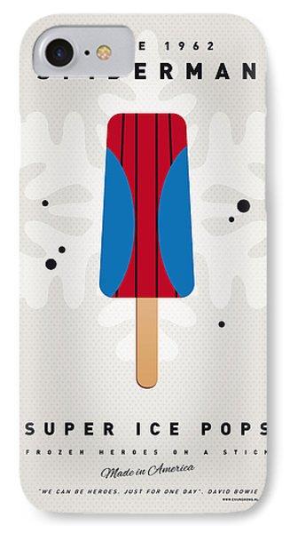 My Superhero Ice Pop - Spiderman IPhone Case