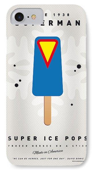 My Superhero Ice Pop - Superman IPhone Case