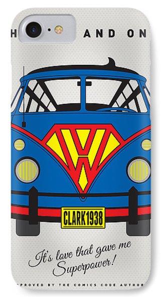 My Superhero-vw-t1-superman IPhone Case