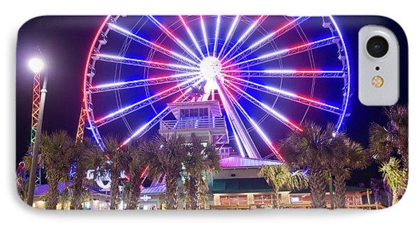 Myrtle Beach Sky Wheel IPhone Case