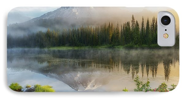 Mystic Rainier IPhone Case