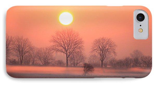 Mystic Red Sunrise IPhone Case