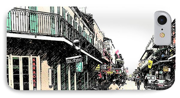 N O French Quarter IPhone Case