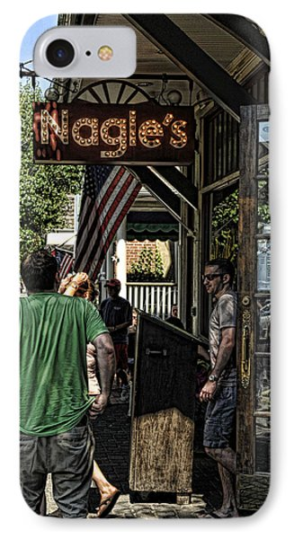 Nagle's Apothecary Cafe IPhone Case