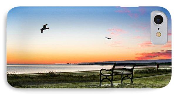 Nairn Beach At Dawn IPhone Case