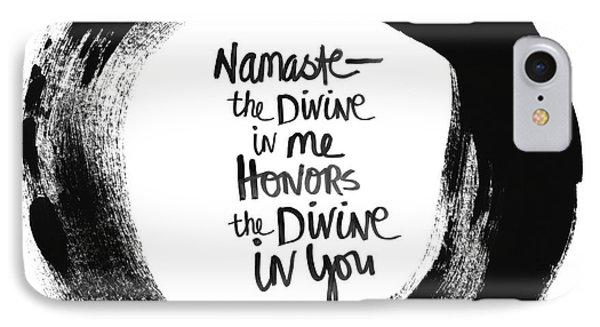 Namaste Enso IPhone Case