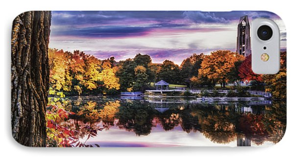 Naperville In Autumn IPhone Case