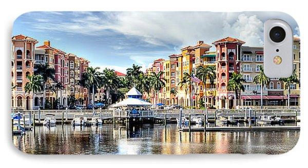 Naples Bayfront IPhone Case