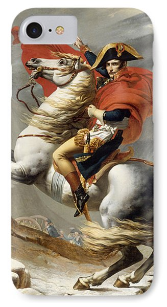 Napoleon Bonaparte On Horseback IPhone Case