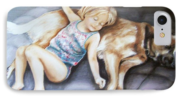 Napping Together IPhone Case