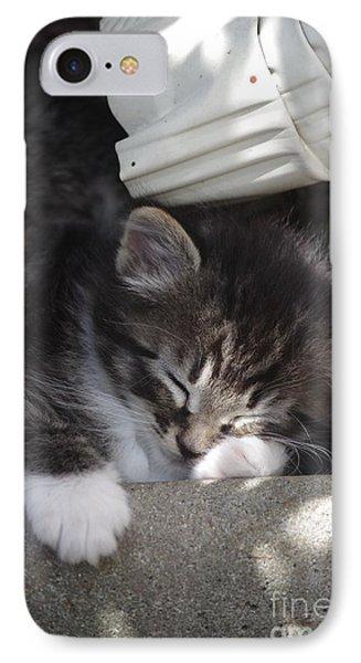 Naptime Kitty IPhone Case