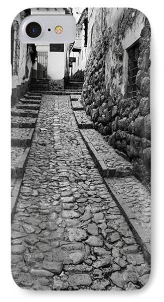 Narrow Street In Cusco IPhone Case
