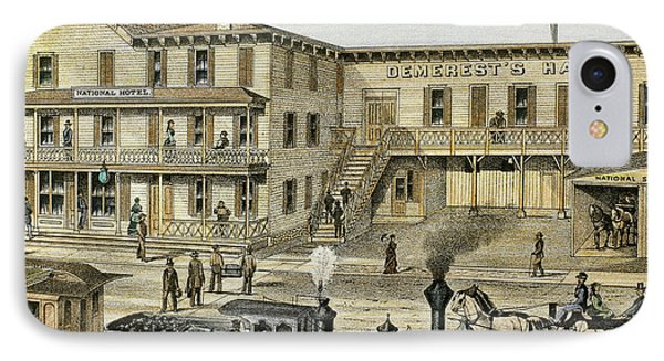 National Hotel  Warwick, 1875 New York IPhone Case