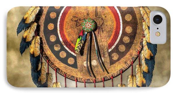 Native American Shield IPhone Case