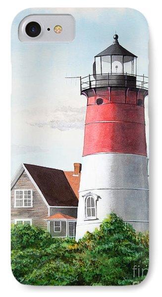 Nauset Beach Memories Watercolor Painting IPhone Case